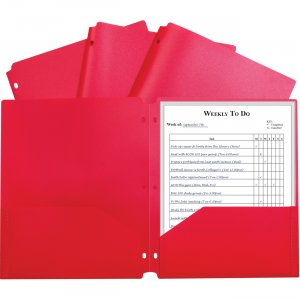 C-Line 2-pocket Heavyweight Poly Portfolio Pocket 33934 CLI33934 CLI-33934