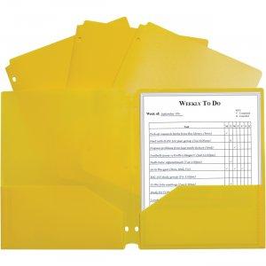 C-Line 2-pocket Heavyweight Poly Portfolio Pocket 33936 CLI33936 CLI-33936