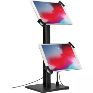 CTA Digital Angle-Adjustable Twin Tablet Stand for 7-10 Inch Tablets PAD-AATTS