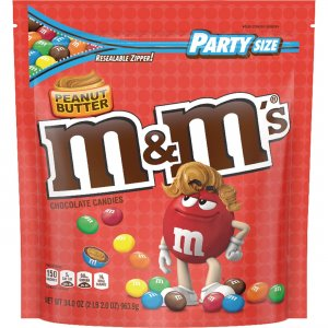 M&M's Peanut Butter Chocolate Candies SN55085 MRSSN55085