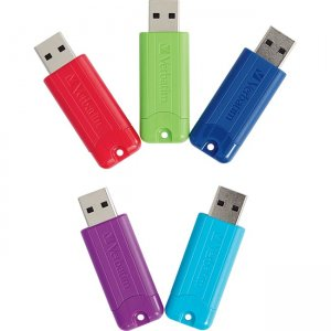 Verbatim 64GB PinStripe USB 3.0 Flash Drive 70389