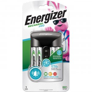 Energizer Recharge Pro AA/AAA Battery Charger CHPROWB4CT EVECHPROWB4CT