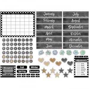 Carson-Dellosa Simply Stylish Calendar Bulletin Board Set 110409 CDP110409