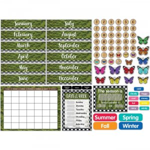 Carson-Dellosa Whimsy Big Tree Bulletin Board Set 110424 CDP110424