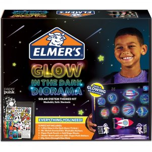 Elmer's Glow In The Dark Diorama Kit 2061963 EPI2061963