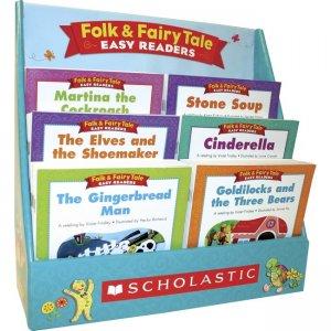 Scholastic K-2 Folk/Fairy Tale Boxed Book Set 977391 SHS977391