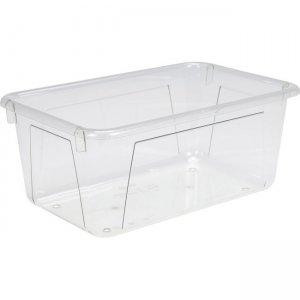 Storex Crystal Clear Cubby Bin 62464U05C STX62464U05C
