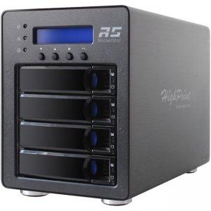 HighPoint 4-Bay M.2 NVMe RAID Storage Solution SSD6540M
