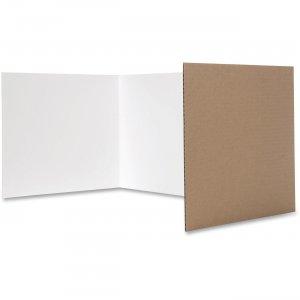 Flipside 12 x 48 Tri-fold Study Carrel 6000524 FLP6000524