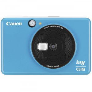 Canon IVY CLIQ+ Instant Camera Printer IVYCLIQBLUE CNMIVYCLIQBLUE