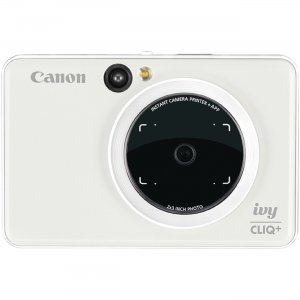 Canon IVY CLIQ+ Instant Camera Printer IVYCLIQWHIT CNMIVYCLIQWHIT