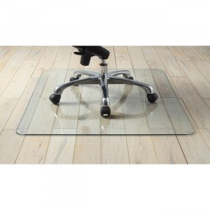 Lorell Tempered Glass Chairmat 82833PL LLR82833PL
