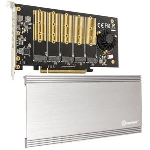 IO Crest 5 Slot M.2 B-key PCIe Controller SI-PEX40142