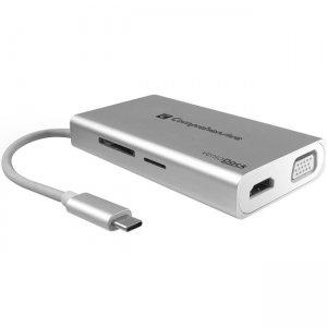 Comprehensive VersaDock USB-C 4K Portable Docking Station with HDMI, USB 3.0 & VGA VDK-1120
