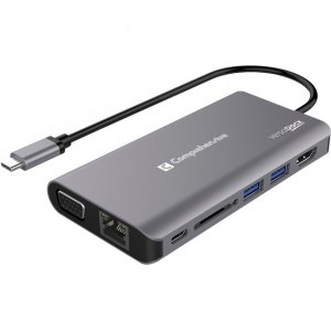 Comprehensive VersaDock USB-C 4K Dual Display Docking Station with HDMI, VGA & Ethernet VDK-1140
