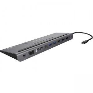 Comprehensive VersaDock USB-C 4K Triple Display Docking Station with HDMI, DP, VGA & Ethernet VDK-3300
