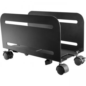 Tripp Lite Mobile CPU Caddy for Computer Towers - Width Adjustable, Locking Casters, Black DCPU2
