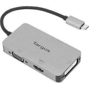 Targus USB-C Single Video Adapter with 4K HDMI/DVI/ VGA ACA961USZ