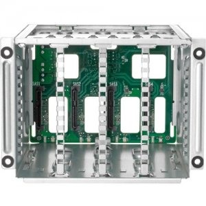 HPE DL325 Gen10 Plus 8SFF to 16SFF U.3 Smart Carrier Drive Cage Upgrade Kit P15725-B21