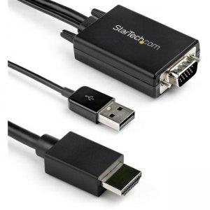 StarTech.com 10 ft. (3 m) VGA to HDMI Adapter - USB-Powered - 1080p VGA2HDMM10