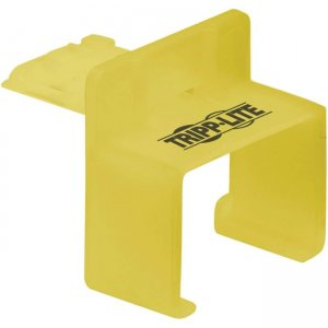 Tripp Lite Universal RJ45 Plug Locks, Yellow, 10 Pack N2LOCK-010-YW