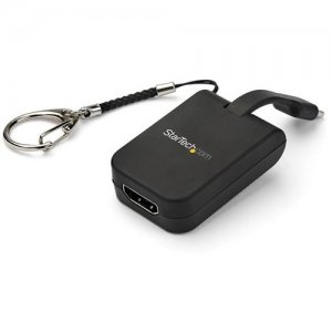 StarTech.com Portable USB-C to HDMI Adapter with QuickConnect Keychain CDP2HDFC