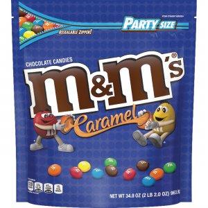 M&M's Caramel Chocolate Candies SN55489 MRSSN55489