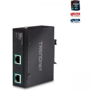 TRENDnet Industrial Gigabit PoE+ Extender TI-E100