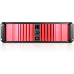 iStarUSA D Storm Server Case with Red SEA Bezel D-300SEA-RD-RAIL24