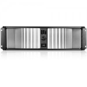iStarUSA D Storm Server Case with Silver SEA Bezel and HDD Hot-swap Rack D-300SEA-SL-T7SA