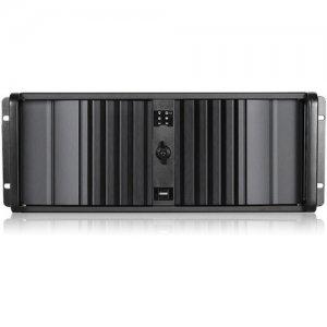 iStarUSA D Storm Server Case with Black SEA Bezel D-400SEA-BK-RAIL24