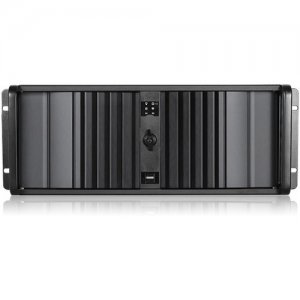 iStarUSA D Storm Server Case with Black SEA Bezel and HDD Hot-swap Rack D-400SEA-BK-T7SA