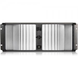 iStarUSA D Storm Server Case with Silver Front Bezel D-400SEA-SL-50R8PD8