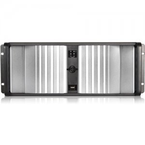 iStarUSA D Storm Server Case with Silver SEA Bezel and HDD Hot-swap Rack D-400SEA-SL-T7SA