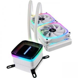Enermax AQUAFUSION 240 Cooling Fan/Radiator/Water Block ELC-AQF240-SQA-W