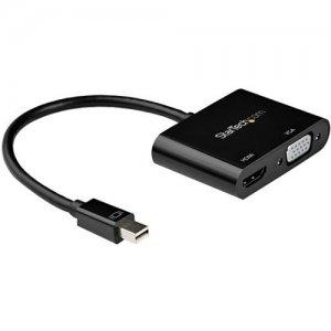StarTech.com Mini DisplayPort To HDMI VGA Adapter - 4K 60Hz MDP2VGAHD20