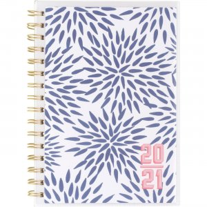 At-A-Glance Katie Kime Blue Mums Academic Planner KK104201A AAGKK104201A