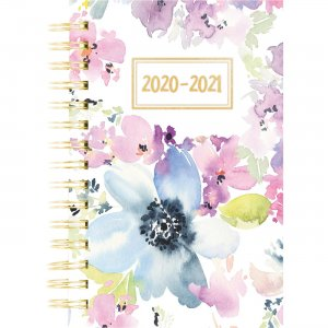 Rediform Floral Academic Weekly/Monthly Planner CA114PM01 REDCA114PM01