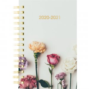 Rediform Flowers Academic Weekly/Monthly Planner CA114PM02 REDCA114PM02