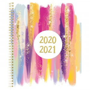 Rediform Stardust Academic Monthly Planner CA714PI02 REDCA714PI02