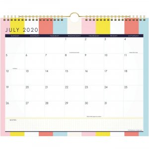 At-A-Glance Katie Kime Stripes Wall Calendar KK100707A AAGKK100707A