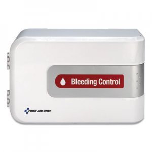 First Aid Only Bleeding Control Cabinet - Texas Mandate, 10.75 x 16.13 x 5.75 FAO91161 91161