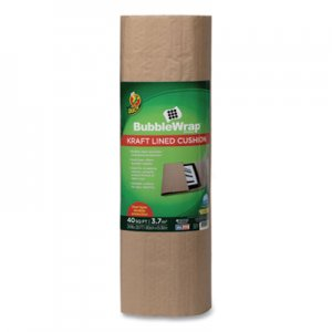 "Duck Kraft Lined Bubble Wrap Cushioning, 0.1"" Thick, 24"" x 20 ft DUC285733 285733"