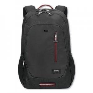 """Solo Region Backpack, For 15.6"""" Laptops, 13 x 5 x 19, Black USLVAR7044 VAR704-4"""