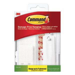Command Picture Hanging Kit, Assorted Sizes, 24 Pieces/Pack MMM17221ES 17221ES