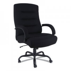 "Alera Alera Kesson Series Big and Tall Office Chair, 25.4"" Seat Height, Supports up to 450 lbs., Black Seat"
