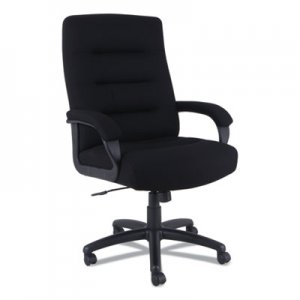 Alera Alera Kesson Series High-Back Office Chair, Supports up to 300 lbs., Black Seat/Black Back, Black Base ALEKS4110