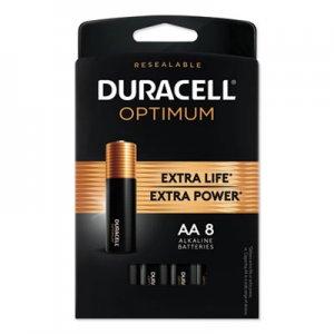 Duracell Optimum Alkaline AA Batteries, 8/Pack DUROPT1500B8PRT OPT1500B8PRT