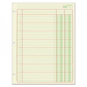 Adams Columnar Analysis Pad, 2 Column, 8 1/2 x 11, Single Page Format, 50 Sheets/Pad ABFACP85112 ACP85112