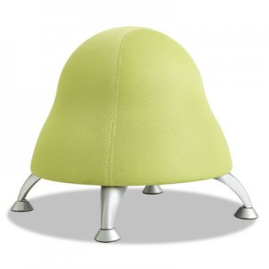 Safco Runtz Ball Chair, Sour Apple Green Seat/Sour Apple Green Back, Silver Base SAF4755GS 4755GS
